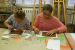 2016 - Kunstschule 2 - Linoldruck