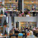 Lesen in der Karower Bibliothek mit Senioren, Kl. 4c, Dez. 2015